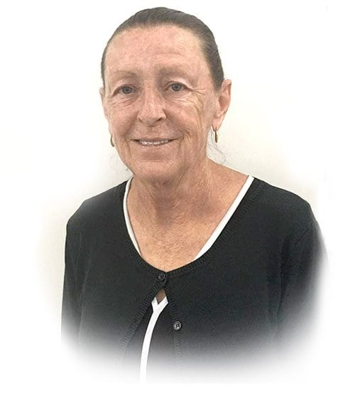 A closeup picture of Sheryl, A receptionist of coorparoo denture clinic